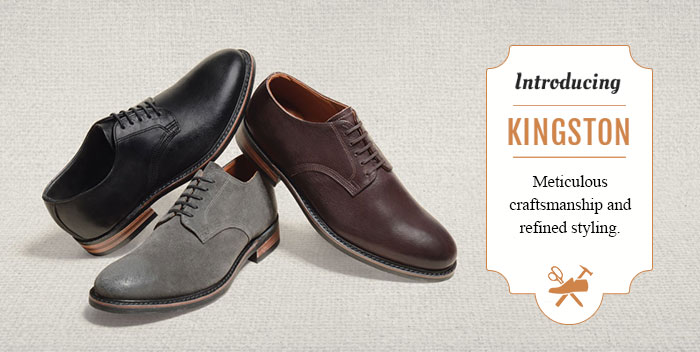 Introducing Chase: Finely crafted with dashing good looks - as every shoe should be.